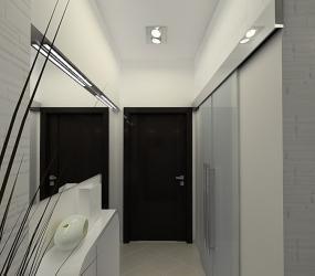 Зеркала в длинном коридоре.