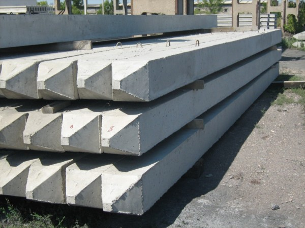 Железобетонные изделия промышленного производства